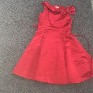 Beautiful red Christmas dress